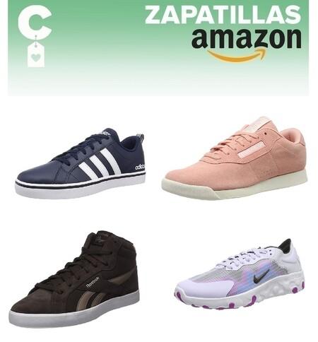 Chollos en tallas sueltas de zapatillas Adidas, Reebok y Nike por menos de 40 euros en Amazon