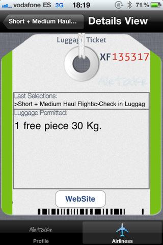 Aplicaciones viajeras para el iPhone: Airtakr