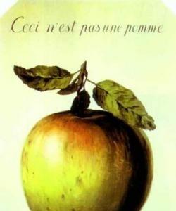Esto no es una manzana