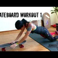 Tu propia rutina en casa con un skateboard