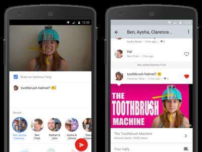YouTube para Android estrena un nuevo servicio de mensajería