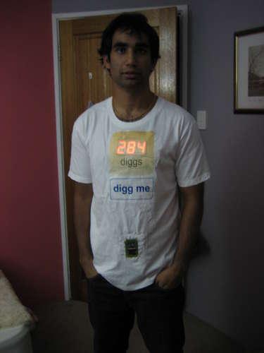 """Camiseta """"Digg me"""""""