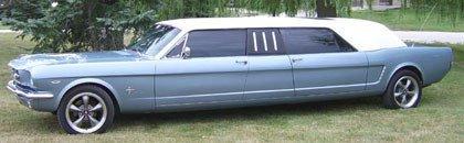 1966 Ford Mustang Limousine, lo que me faltaba por ver