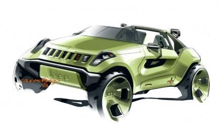 Jeep Renegade Concept, ¿reinventando el Hurricane?