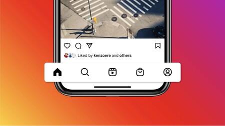Instagram incorpora una pestaña de Reels y otra de Shop en su nuevo diseño