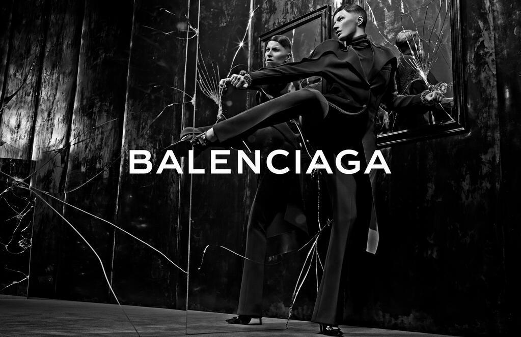 Foto de Gisele Bündchen para Balenciaga campaña Otoño-Invierno 2014/2015 (3/5)