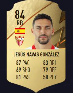 Jesús Navas FIFA 22