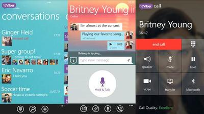 Viber actualiza su aplicación para Windows Phone con renovado diseño y nuevas funcionalidades