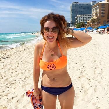 En bikini después de haber tenido tres hijos, ¿por qué no?