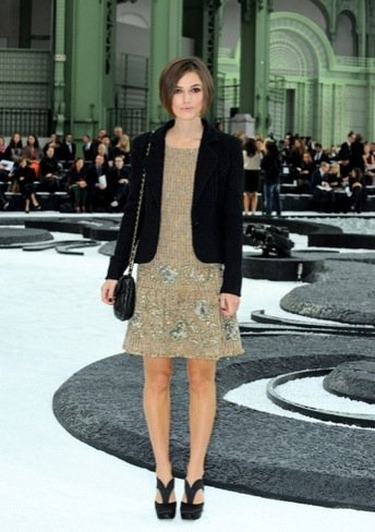 Chanel Keira Knightley look
