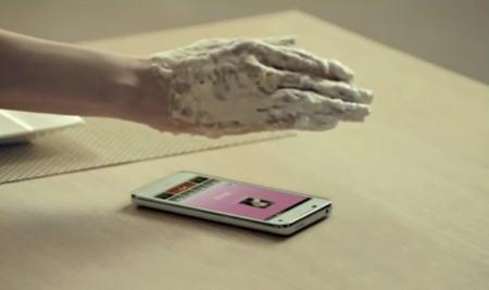 Pantech Vega LTE, con gestos al estilo Kinect
