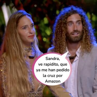 Así ha sido la hoguera final de Raúl y Claudia en 'La Isla de las Tentaciones 3': Repleta de dudas y con Tony dentro de la ecuación