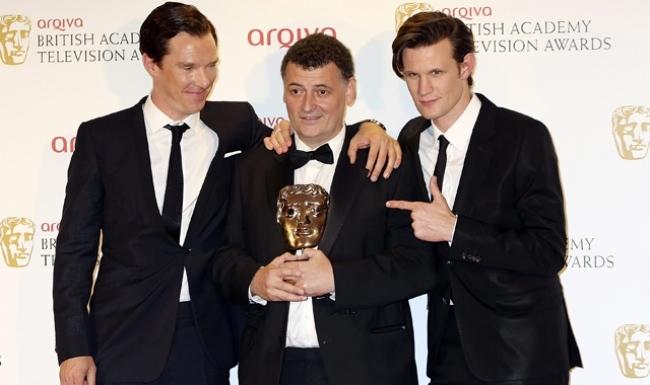 Steven Moffat y BAFTA