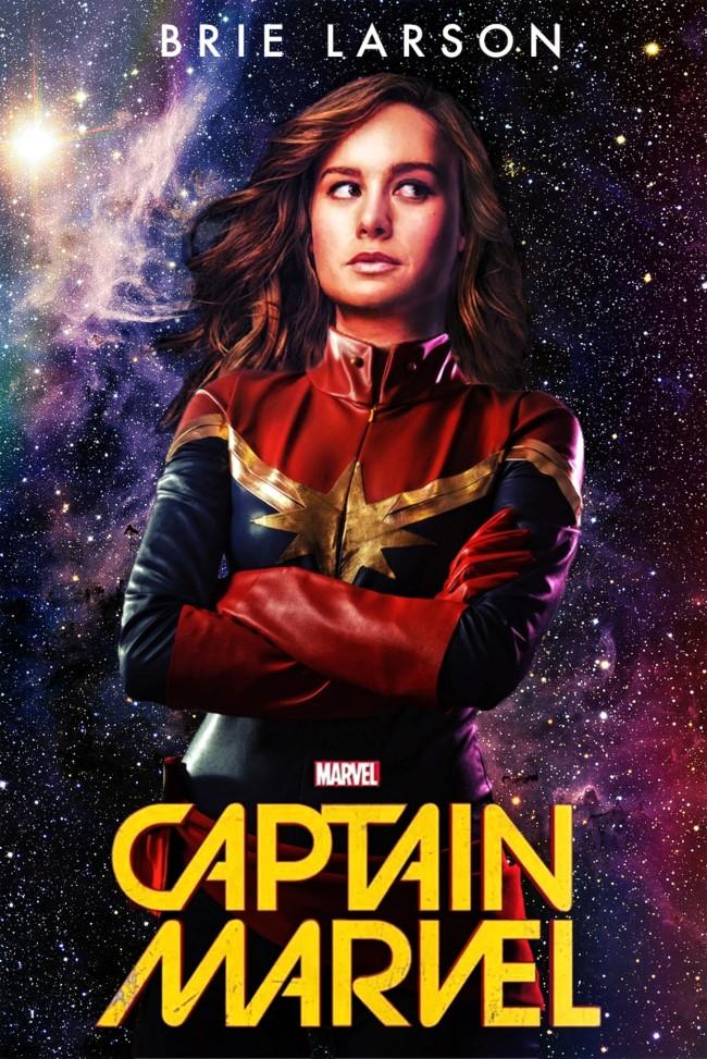 Un fan ya imaginó como sería Brie Larson como Captain Marvel
