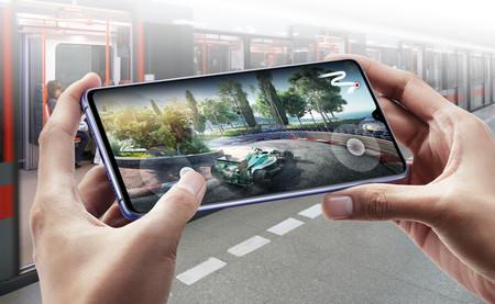 Huawei Mate 20 X Jugando