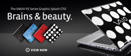 Sony VAIO C Graphic Splash