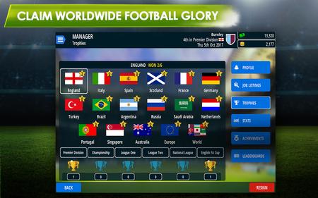 La última versión de Championship Manager sólo está disponible para móviles.