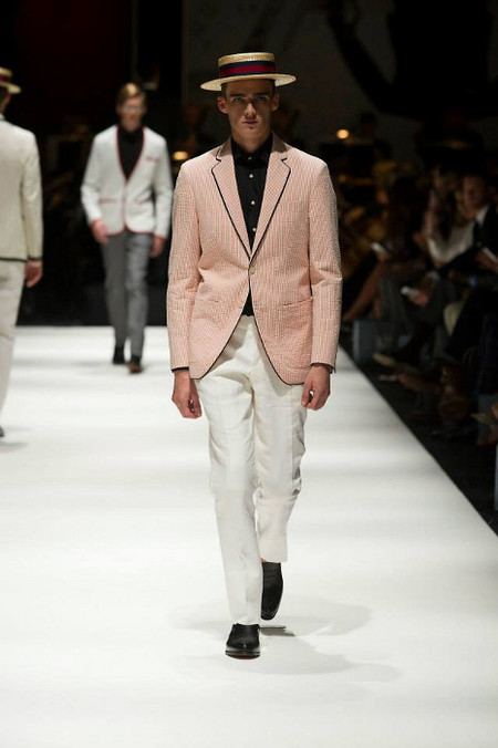 Hackett London SS 14   chaqueta rosa