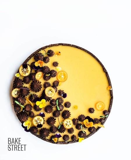 Tarta Naranja Albaricoque