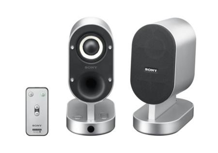 Sony SRSZX1, altavoces 2.0