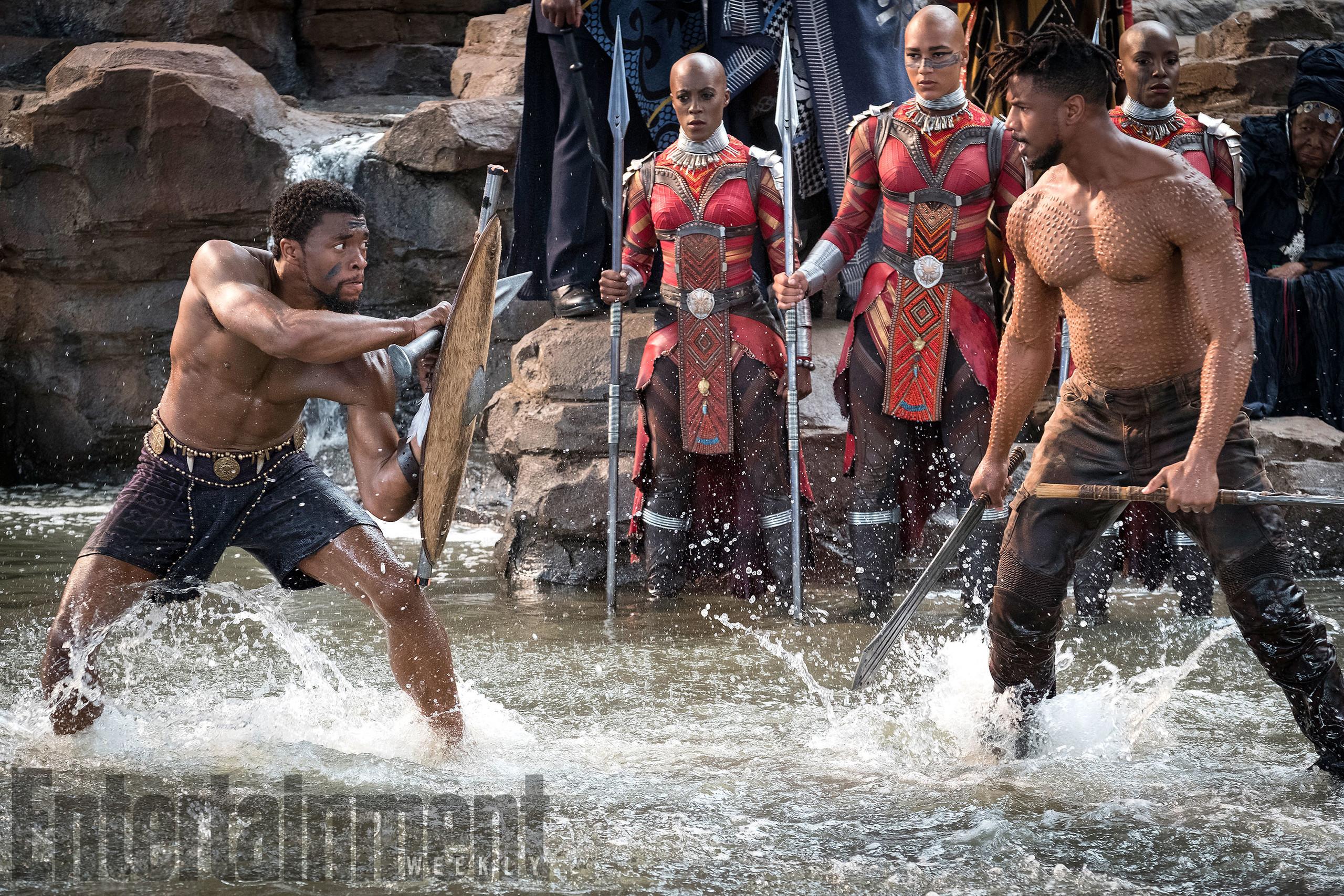 Foto de Nuevas imágenes oficiales de 'Black Panther' (11/20)