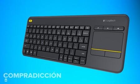 El mejor amigo de tu PC de salón puede ser este teclado Logitech K400 Plus que Amazon te deja por sólo 19,99 euros