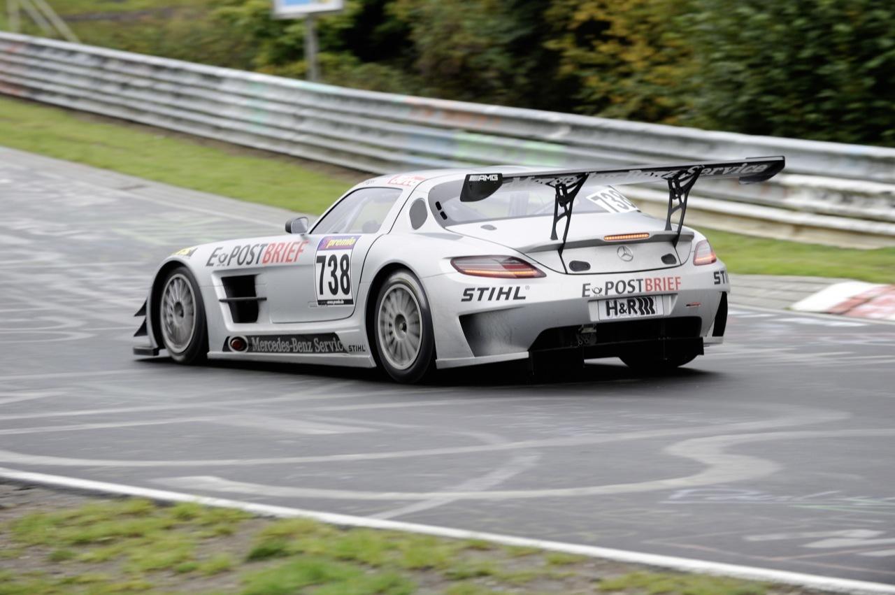 Foto de Mercedes SLS AMG GT3, accidentado debut (3/6)