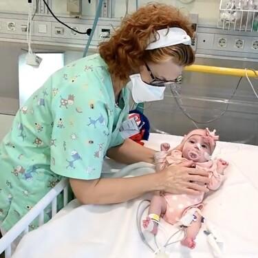 Con solo dos meses Naiara es la primera bebé en recibir un trasplante de corazón en parada y de un grupo sanguíneo incompatible