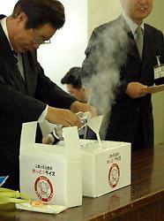 Arroz caliente con agua fría, nuevo invento japonés