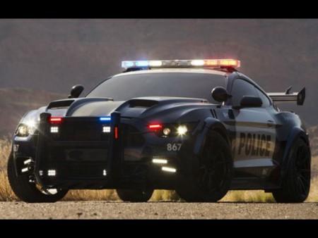 Ford Mustang Barricade, regresa más villano en la quinta entrega de Tranformers