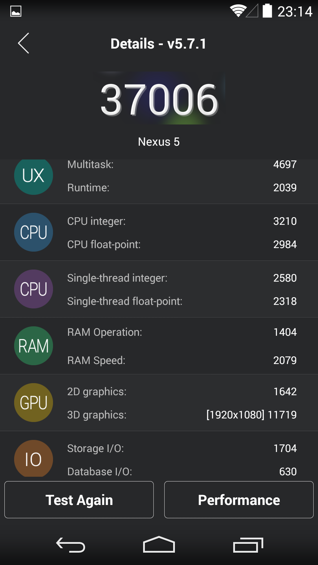 Foto de Benchmarks Nexus 5 Android 4.4.4 (6/37)