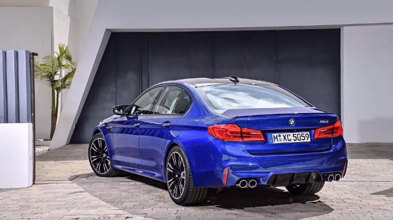 BMW M5 2018 (filtrado)