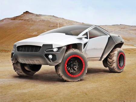 Cefalo es un concept-car para un SUV que se alarga y se encoge según las necesidades del conductor