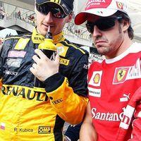 Kubica confiesa que tenía contrato firmado con Ferrari como compañero de Fernando Alonso en 2012
