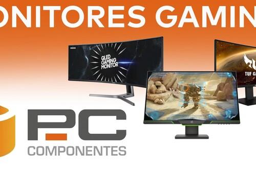 Ahorra hasta un 17% con estos 7 monitores gaming de ASUS, HP, Gigabyte o MSI rebajados esta semana en PcComponentes