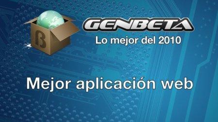 Lo mejor del 2010: mejor aplicación web