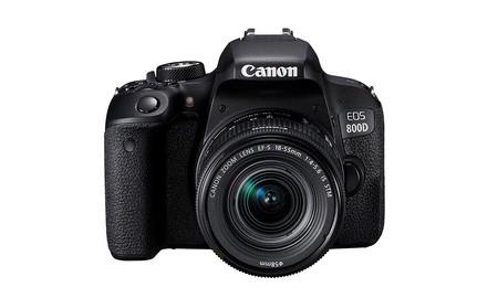 En eBay tienes la Canon EOS 800D c on objetivo 18-55 estabilizado más barata que nunca, a 499,99 euros