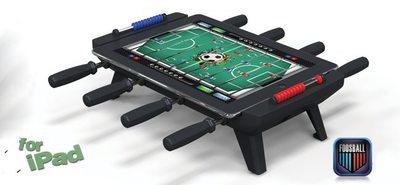 Classic Match Foosball, el dock que convierte tu iPad... ¡En un futbolín!