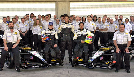 Minardi con Alonso