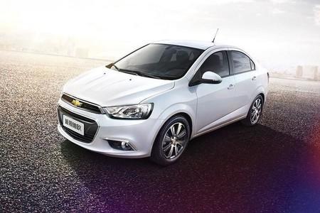 El Chevrolet Aveo se actualiza en China