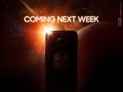 La próxima semana llega la versión Avengers del Samsung Galaxy S6 Edge