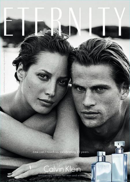 Eternity de Calvin Klein celebra su 25 Aniversario recuperando una vieja campaña de 1995