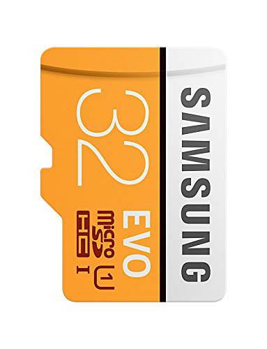 Tarjeta microSD de 32GB EVO de Samsung