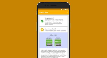 Cómo saber si tu móvil es compatible con Treble