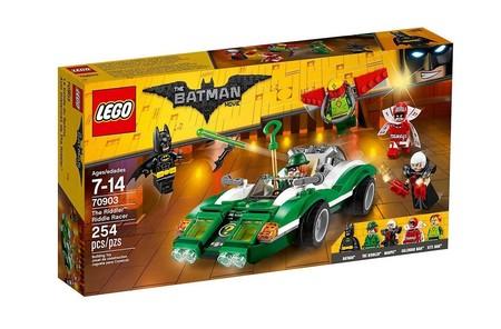 El coche misterioso de El Acertijo Lego Batman ahora por 23,67 euros en Amazon