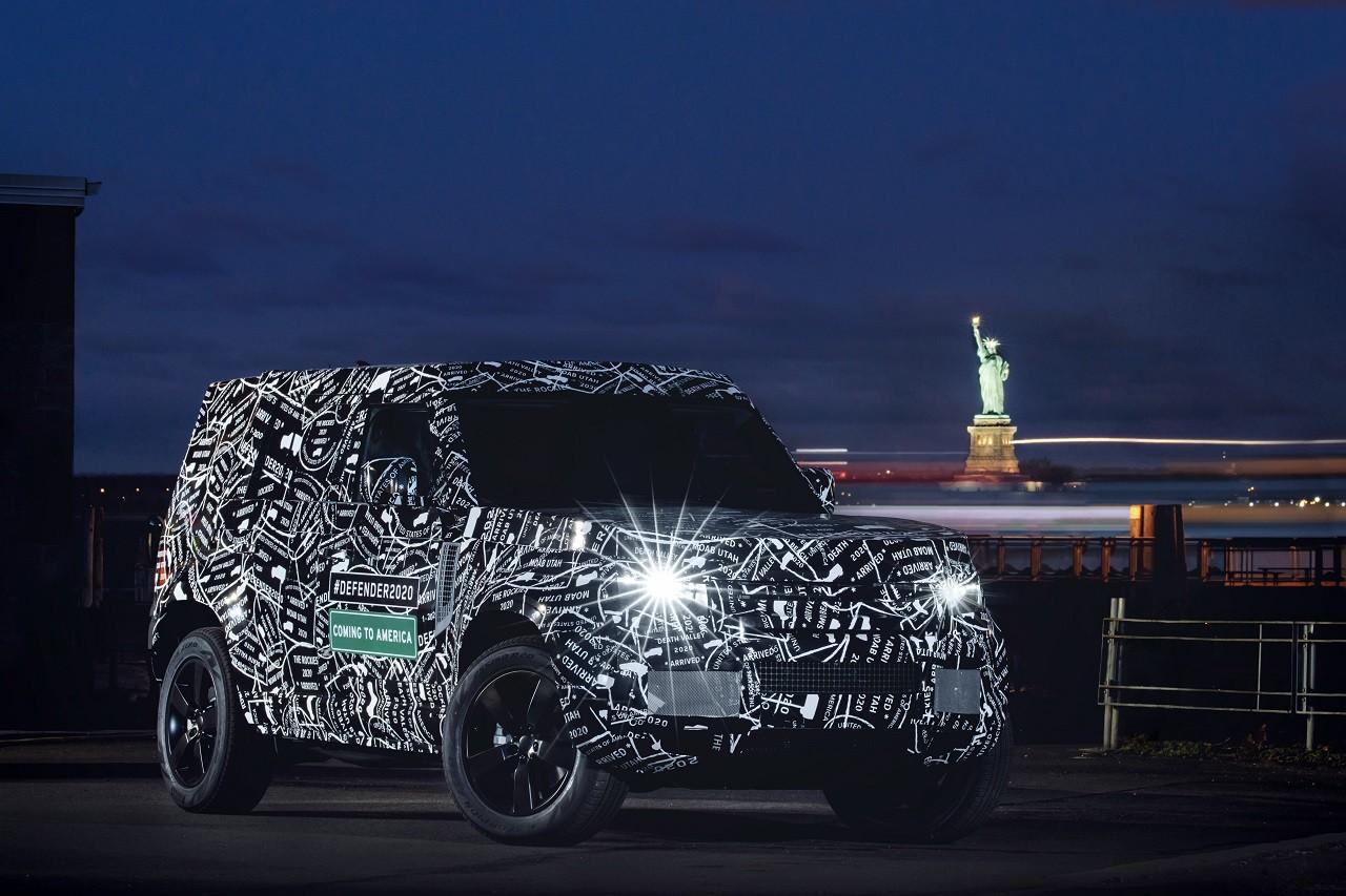 Foto de Land Rover Defender 2020 primeras fotos oficiales (6/24)