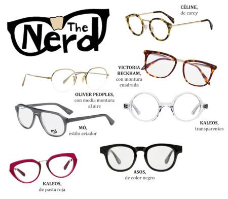 Gafas De Ver Tipo Nerd