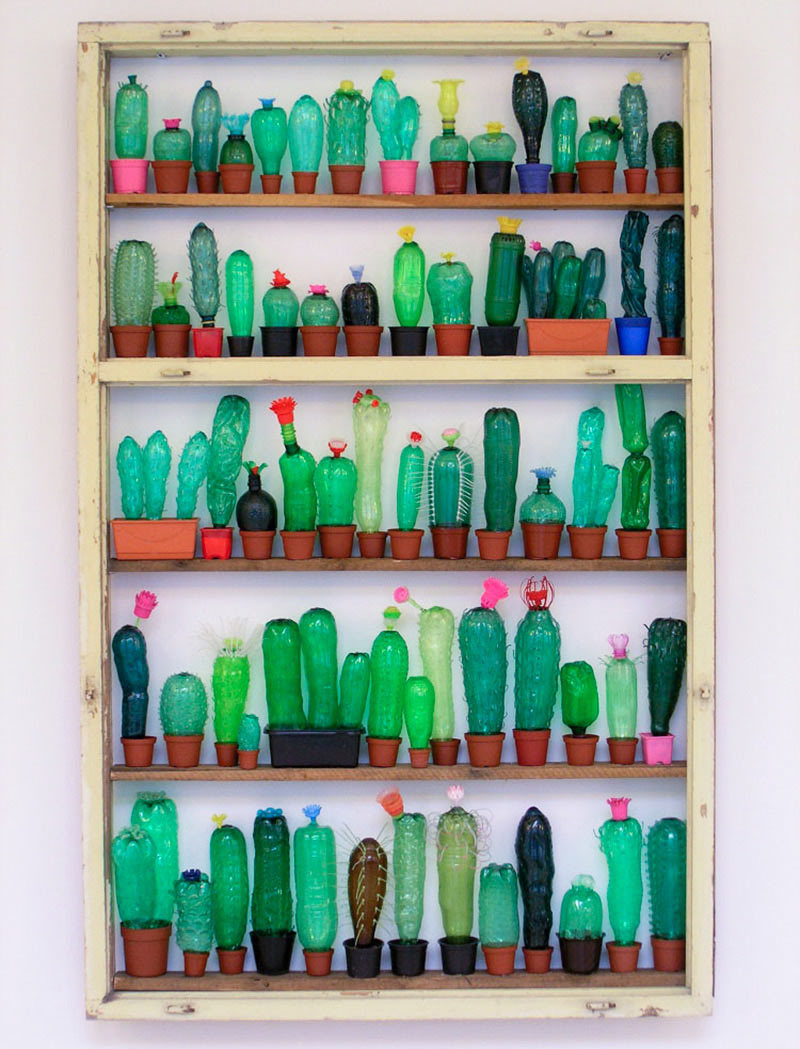 Foto de Plantas artificiales hechas con botellas de plástico (6/7)