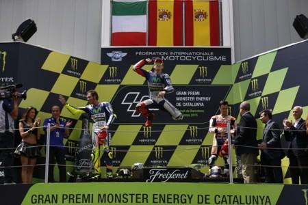 Podio Mgp Catalunya 2015