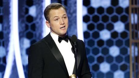 Golden Globes 2020 Taron Egerton